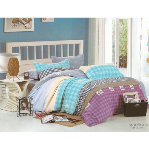 King Sized Bed Sheet pure cotton With 2 Pillow Covers