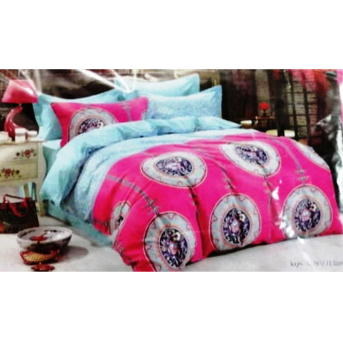 Pure Cotton King Sized Bed Sheet  2 Pillow Covers