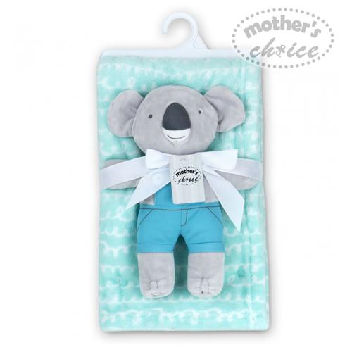 Fleece Blanket With Koala Plushtoy Sku