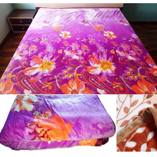Printed Thick Flannel Fleece Blanket