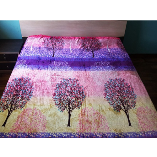Tree Warm Faux Mink Flannel Thin King Sized Bed Covers