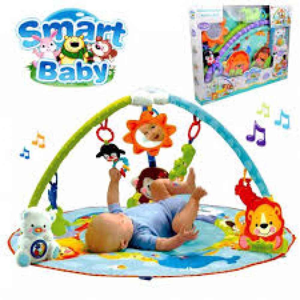 Play Gym Smart Baby Deluxe Musical Activity Gym Play Gym