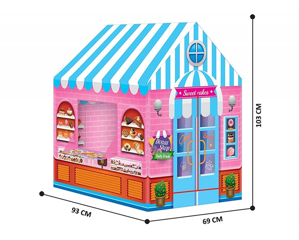 Fantasy Pink Candy House Role Play Tent House For Kids For 2 - 7 Years Old Kids (candy House)