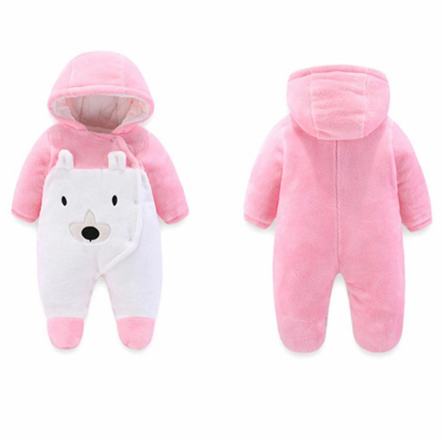 Winter Children Baby Boys /girls Clothes Jumpsuit / Romper Footed