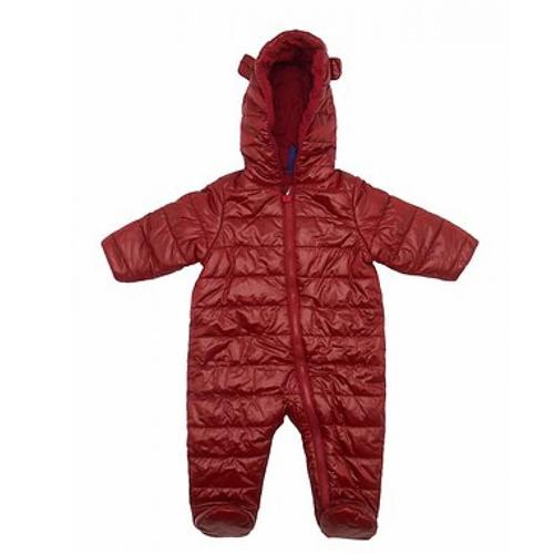 Hooded Winter Puffer Snowsuit/ Romper