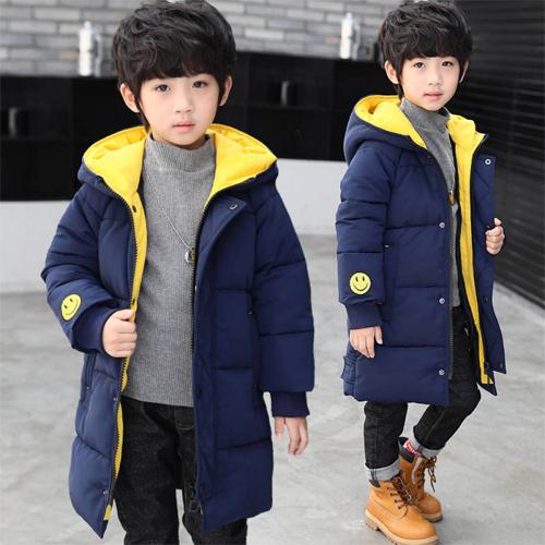 Boys Overcoat New Winter Thick Long Jacket It19190