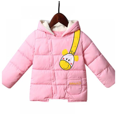 Pink Winter Coat Babygirl 19134