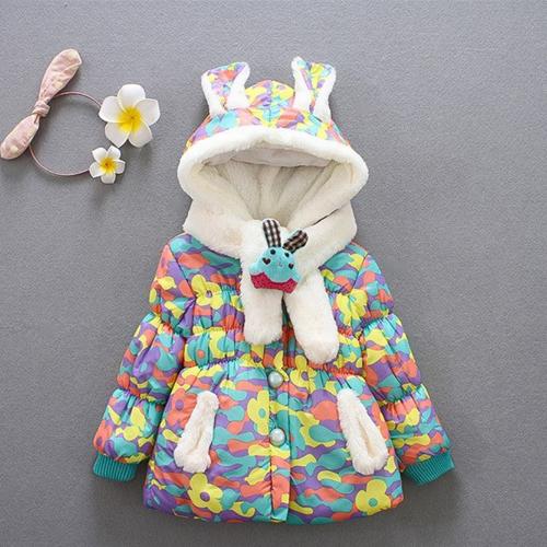 Baby Girl Winter Jacket 19002