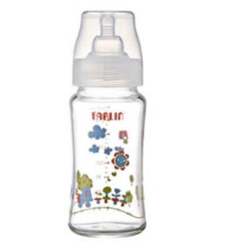 Farlin Bottle Glass Wide Neck 240cc