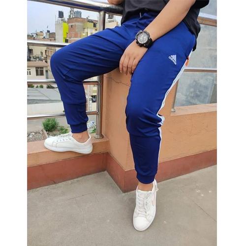Adidas Royal Blue Regular Track Pants