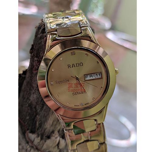 Golden Rado Sapphire watch