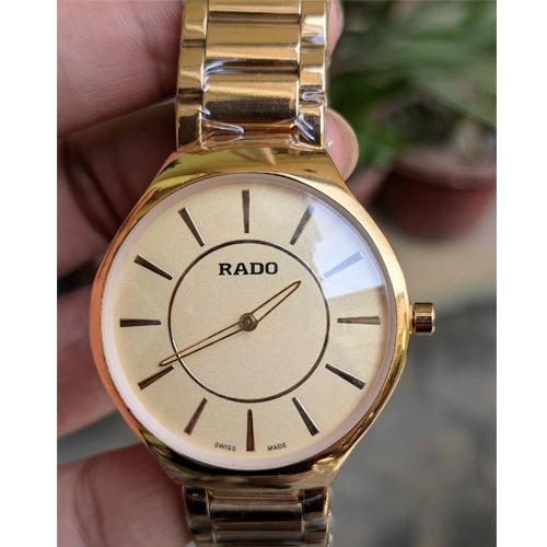 Womens Golden Rado made swiss watch