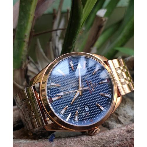 Omega Golden Seamaster Analog watch
