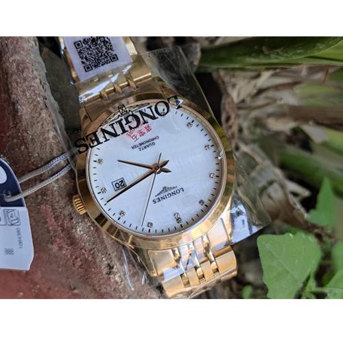Longiness Quartz Chronometer Watch