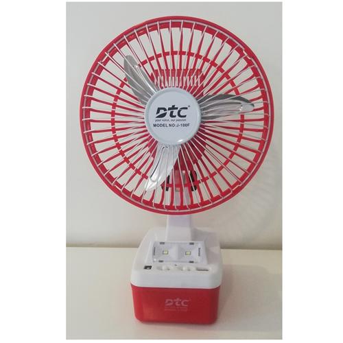 DTC Rechargeable 8' Fan