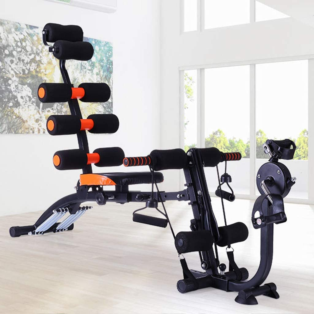 Six Pack Care ABS Fitness Machine with Pedals Six Pack Abs Exerciser Six Pack Machine 40 Different Mode For Exercise And Fitness