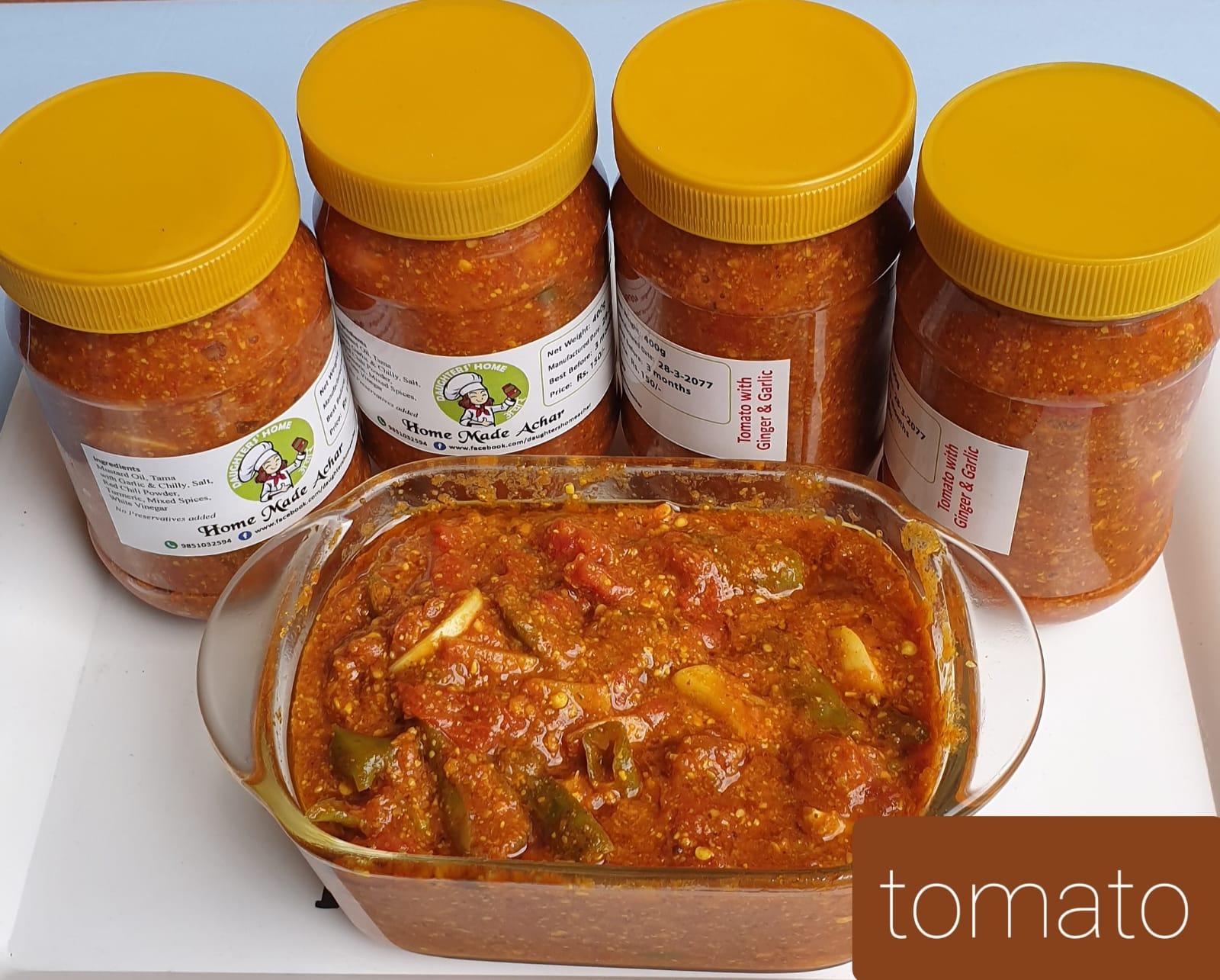 """Tomato Pickle """"Tamatar KO Achar"""" 1kg"""